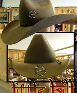 Little Bill Daggett Handmade Hat