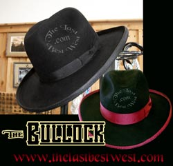 Bullock Custom Handmade Dress Hat
