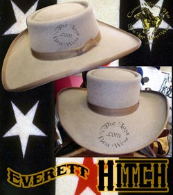 Everett Hitch Custom Handmade Hat