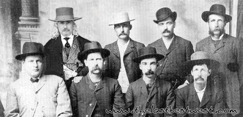 Western Dress Hats being worn by the Dodge City Peace Commission