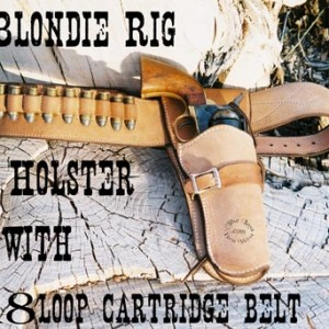 Blondie Holster Heavy Cartridge Belt