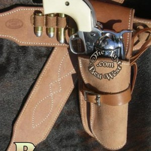 Blondie Hand Made Leather Holster