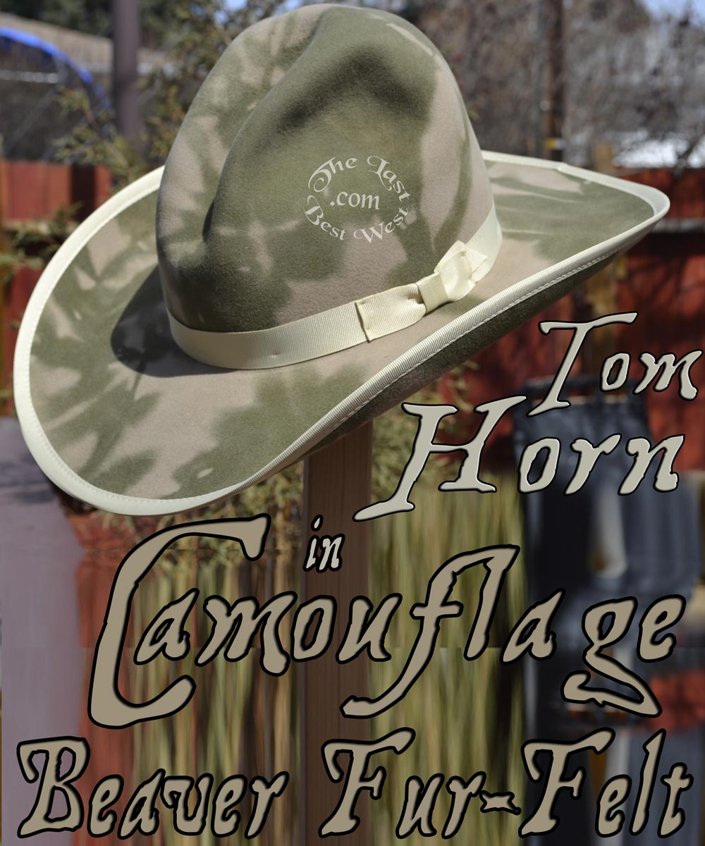 21f82c5415e Pinkerton Custom Town Hat - The Last Best West