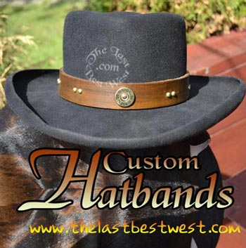 Hatbands for Cowboy Hats - The Last Best West a94c72edcaa