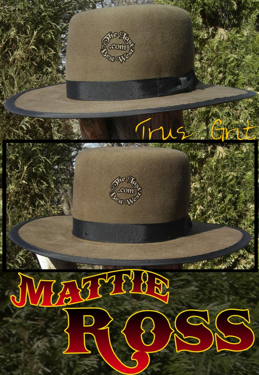 Mattie Ross Custom Handmade Hat
