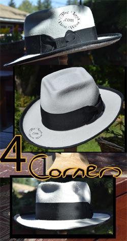 4 Corners Custom Fedora Hat