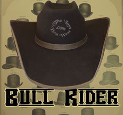 Bull Rider Custom Handmade Hat