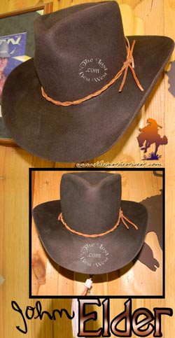 John Elder Cowboy Movie Hat