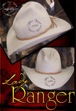 Lady Ranger Custom Handmade Hat