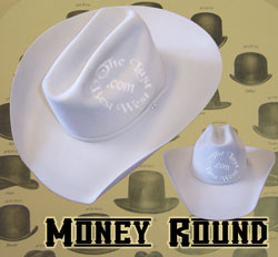 Money Round Custom Handmade Hat