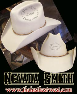 Nevada Smith Custom Handmade Hat