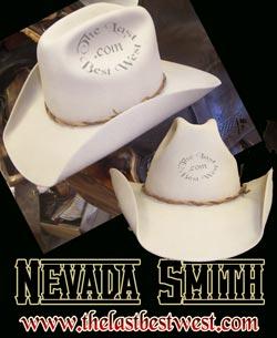 Nevada Smith Custom Handmade Hat