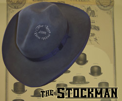 Stockman Custom Handmade Hat