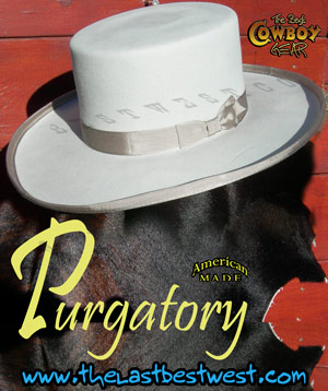 Jesse James Purgatory Cowboy Hat