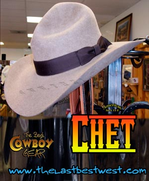 Chet TV Movie Hat
