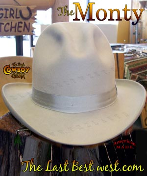 Monty Old West Dress Hat