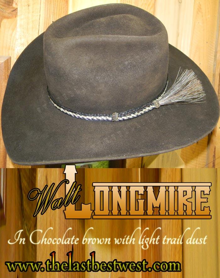 Longmire Custom Handmade Hat