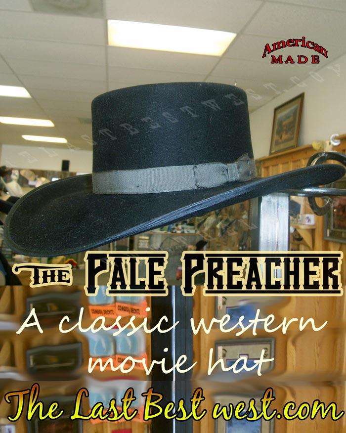 Pale Preacher Movie Hat