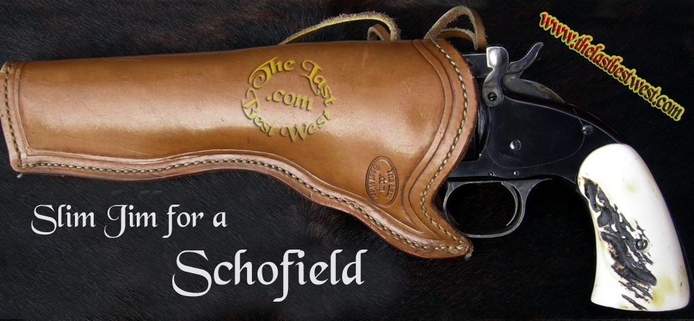 Traditional Slim Jim Leather Holster