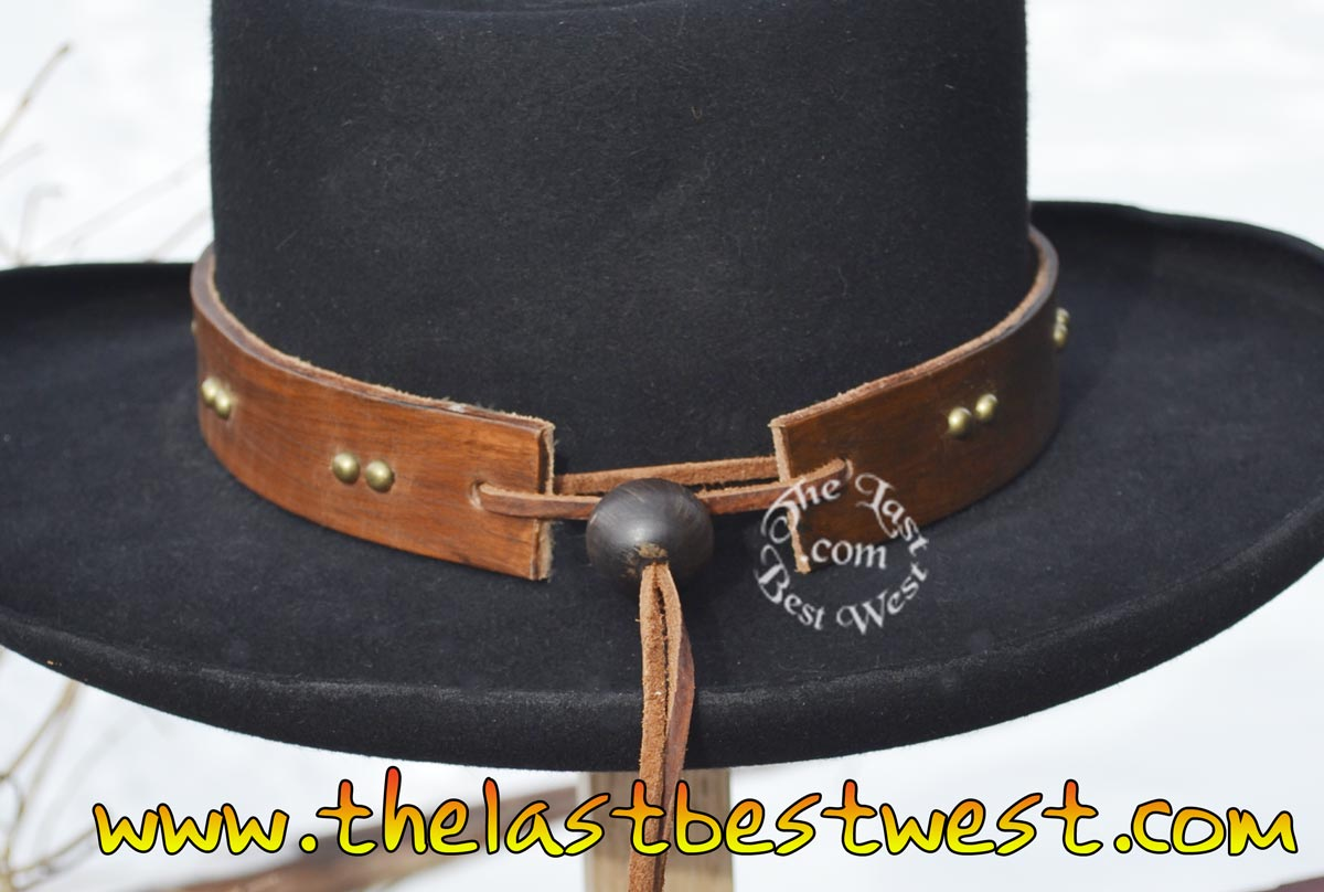 leather hat band
