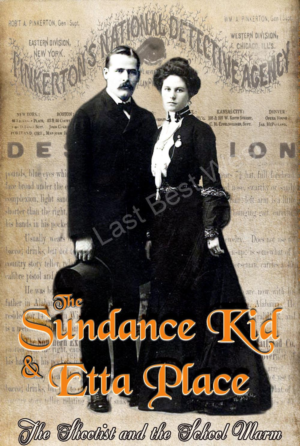 Sundance Kid and Etta Place Poster