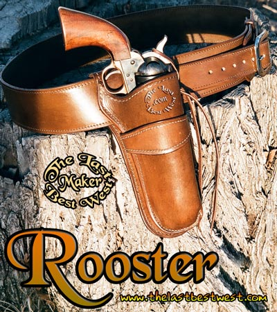 Rooster Hand Made Leather Holster
