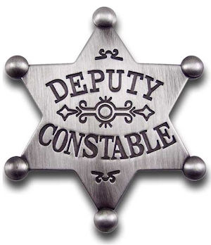 Deputy Constable Badge