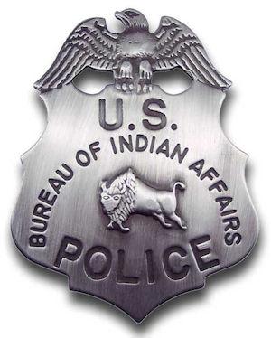 Bureau of Indian Affairs Badge