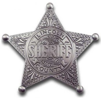 Lincoln County Sheriff Badge
