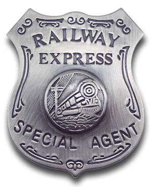 Railway Express Special Agent Badge