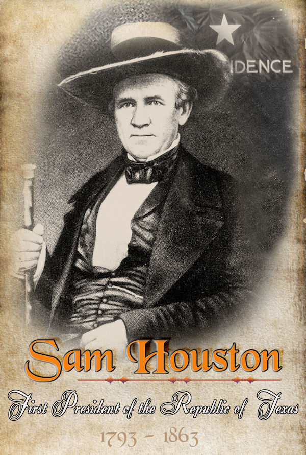 Sam Houston Poster