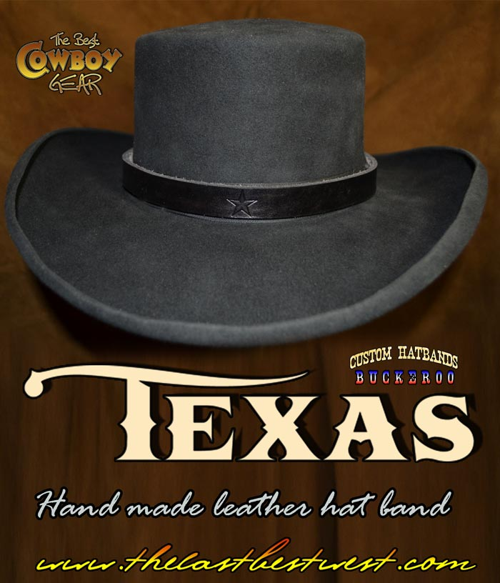 Texas Cowboy Hat Band