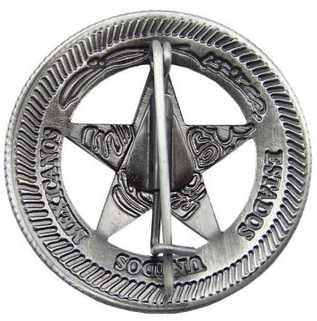 Texas Rangers Company D Badge