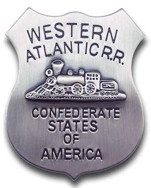 Western Atlantic RR Agent Badge