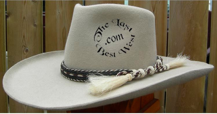 Horsehair Hatbands - The Last Best West 94c10ebeaf0