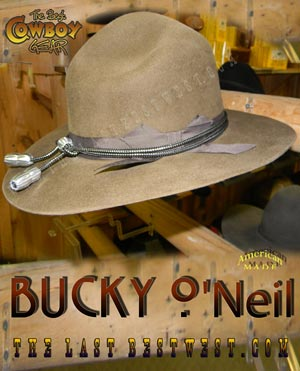 Bucky O'Neil Rough Rider Hat