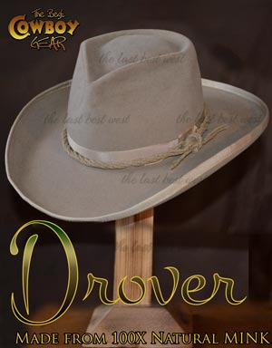 Mink Cowboy Hat The Drover from Australia