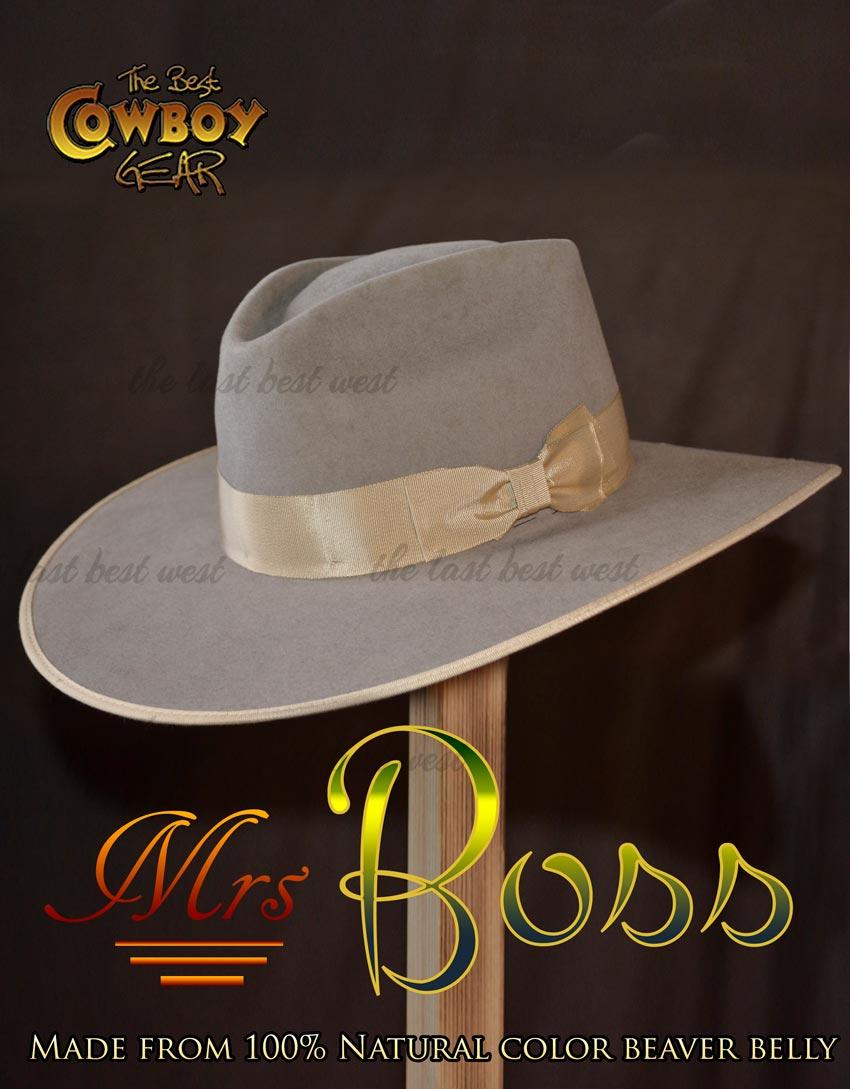 100X Beaver Belly Hat