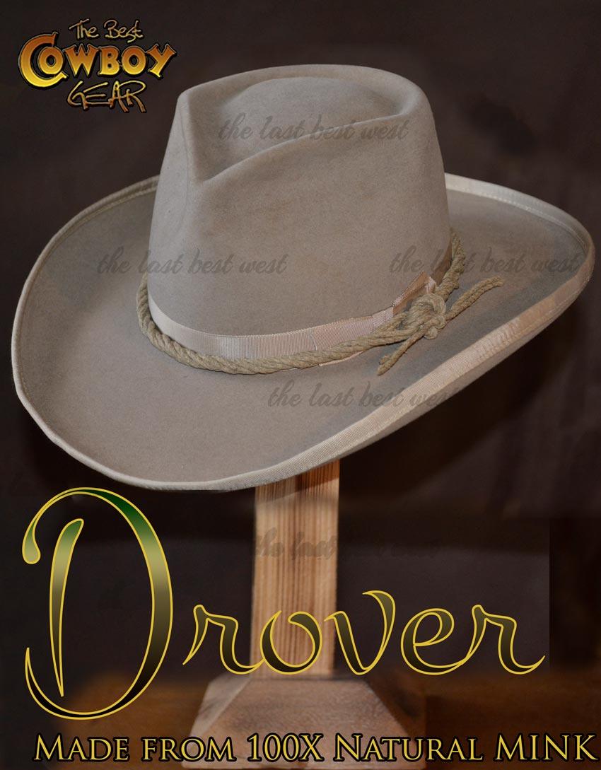 100X Mink Cowboy Hat Century Grade