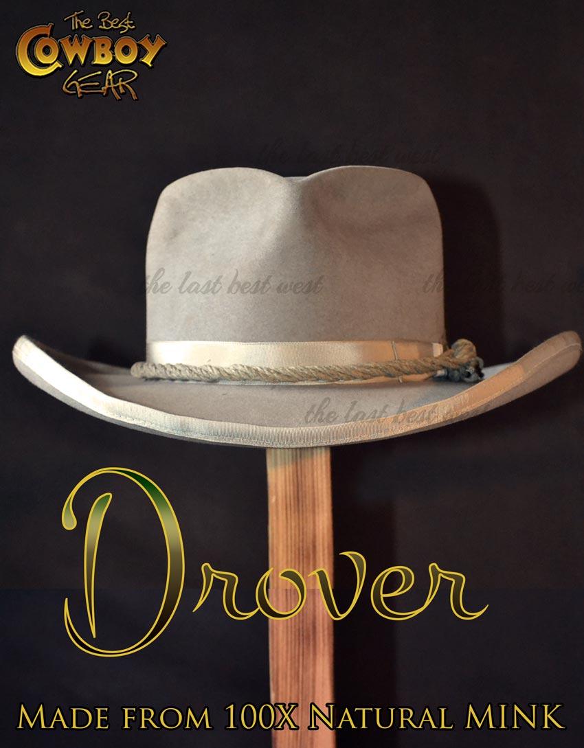 Mink Cowboy Hat Drover