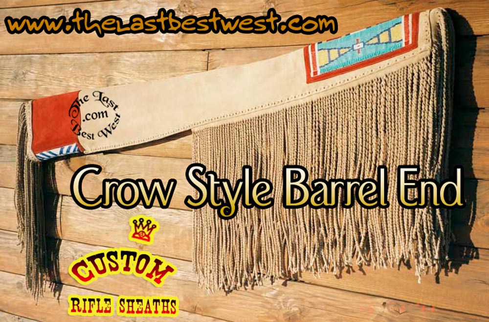Crow Indian Rifle Sheath